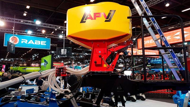 Пневматические высевающие устройства APV